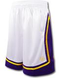 KO456 メンズ アンドワン バスケットボールショーツ AND1 Basketball Shorts バスパン 白紫黄色