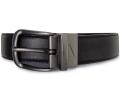 HO755 メンズ ナイキ リバーシブル ベルト Nike Reversible Belt 黒ブラウン