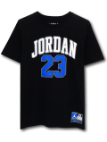 LL527 ジュニア ジョーダン Tシャツ Jordan Youth T-Shirt キッズ ユース トップス 黒白青 【メール便対応】