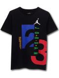 LL526 ジュニア ジョーダン Tシャツ Jordan Youth T-Shirt キッズ ユース トップス 黒青赤 【メール便対応】