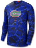 JN441 メンズ ジョーダン NCAA フロリダ大学 ゲイターズ カレッジ ロングスリーブ トレーニングシャツ Jordan Florida Gators 長袖 青紺オレンジ 【ドライフィット】 【メール便対応】