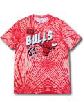 NB563 メンズ NBA シカゴ・ブルズ トレーニングTシャツ UNK Chicago Bulls アンク 赤白 【メール便対応】