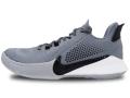 KS776 キッズ/ジュニア Nike Mamba Fury TB ナイキ コービー・ブライアント Kobe Bryant バスケットシューズ バッシュ クールグレー黒白【箱なし】