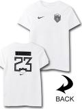 NK435 ジュニア ナイキ レブロン・ジェームズ Tシャツ Nike LeBron James T-Shirt キッズ ユース トップス 白黒【ドライフィット】 【メール便対応】