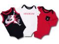 BT758 ベビー Jordan Jumpman Classics ジョーダン ロンパース 3枚セット 黒白赤