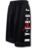 SK299 【メール便対応】 キッズ Jordan Vertical Logo Shorts ジョーダン ショーツ 黒白赤