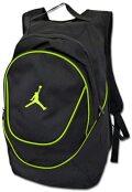 TA389 【海外取り寄せ】 Jordan Jumpman Backpack ジョーダン リュックサック バックパック 黒ライム