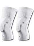 HO707 Jordan Padded Knee Sleeve ジョーダン パッド付きニースリーブ 膝サポーター 2個セット 白黒