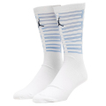 BK343  ジュニア Air Jordan 11 Crew Socks ジョーダン クルーソックス 白 22cm-25cm 【メール便対応】