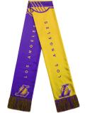 HO742 NBA Los Angeles Lakers Scarf ロサンゼルス・レイカーズ マフラー 紫黄色