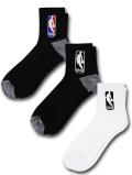 SS185 【ばら売り】 NBA バスケットボールクォーターソックス Basketball Quarter Socks ショート丈 靴下 27~30cm 【メール便対応】