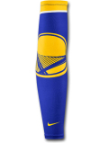 HO748 Nike NBA Golden State Warriors Elite Sleeve ナイキ ゴールデンステート・ウォリアーズ アームスリーブ 青黄色【ドライフィット】 【メール便対応】