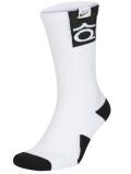 "BK350 ナイキ Nike""ケビン・デュラント"" KD Elite Crew Socks クルーソックス ミドル丈 靴下 白黒 Mサイズ【ドライフィット】 【メール便対応】"