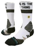 SS068 【メール便対応】 Stance Basketball Strike Pro Crew Socks スタンス バスケットボール クルーソックス 白黒メタリックゴールド