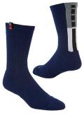 SS077 【メール便対応】 Nike Kyrie Elite Crew Socks ナイキ カイリー バスケットボール クルーソックス 紺