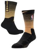BK256 【メール便対応】 Nike NBA Elite Quick Crew Socks ナイキ バスケットボール クルーソックス 黒ウィート  Mサイズ