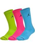 SS091 【メール便対応】 Jordan Jumpman 3 Pack Crew Socks ジョーダン ドライフィット クルーソックス 3足セット
