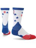 "SS096 【メール便対応】 Stance NBA ""Star"" Crew Socks スタンス バスケットボール クルーソックス"
