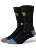 SS169 Stance スタンス NBA Philadelphia 76ers Trophy シクサーズ クルーソックス Crew Socks 黒ゴールド青【メール便対応】