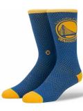 SS172 Stance スタンス NBA Golden State Warriors Jersey ウォリアーズ クルーソックス Crew Socks 青黄色白【メール便対応】