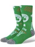 "SS204 Stance スタンス NBA Boston Celtics  ""Landmark"" クルーソックス 緑白【メール便対応】"