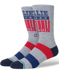 SS206 Stance スタンス x Willie Nelson STARS Crew Socks クルーソックス 灰紺赤 【メール便対応】