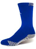 SX46 Jordan Vapor Crew Socks ジョーダン クルーソックス ミドル丈 靴下 青白 30cm~【ドライフィット】 【メール便対応】