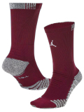SS158 ジョーダン Jordan Vapor Crew Socks ドライフィット クルーソックス ミドル丈 靴下 ワインレッド白 【メール便対応】
