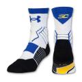 SS067 【メール便対応】 Under Armour SC30 Drive Mid Crew Socks ステフィン・カリー バスケットボール ミッドクルーソックス 白青黄色