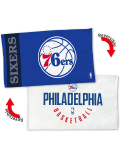 HO744 NBA Philadelphia 76ers Bench Towel フィラデルフィア・セブンティシクサーズ バスケットボール ベンチタオル 青白