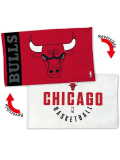 HO741 NBA Chicago Bulls Bench Towel シカゴ・ブルズ バスケットボール ベンチタオル 赤白
