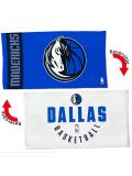 HO740 NBA Dallas Mavericks Bench Towel ダラス・マーベリックス バスケットボール ベンチタオル 青白