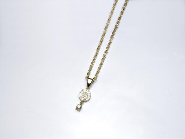 K18金家紋ダイヤモンドペンダント・ミニ