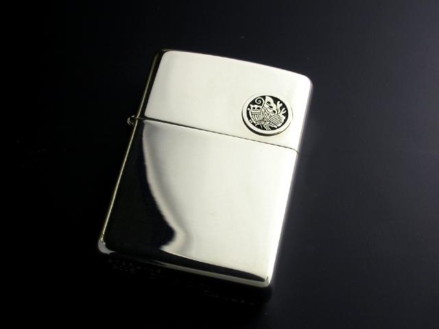 家紋入り純銀ZIPPO