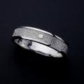 般若心経リング・ミクロ・Pt900プラチナ(7号~15号) 指輪 リング メンズ レディース サイズ Pt900 プラチナ