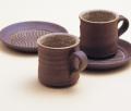 MA-76 木立ちコーヒー碗皿ペア