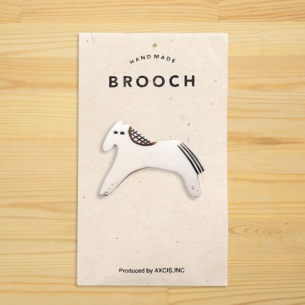 子馬のBoneブローチ