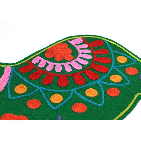ダーラナホースのフェルトプレースマット 3色