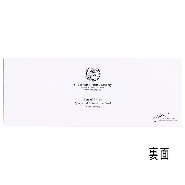 英国乗馬協会 乗馬/競馬 メッセージカード 2種類