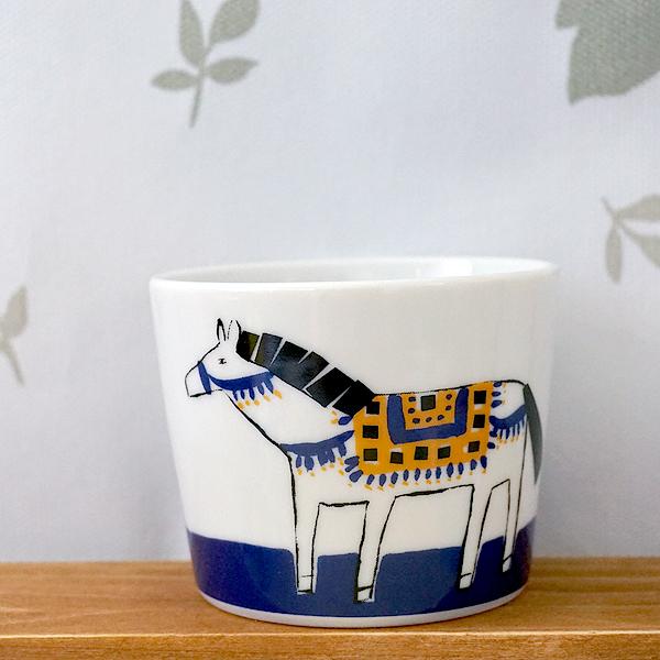 樋口たつの 北欧のお馬さんミニボウル