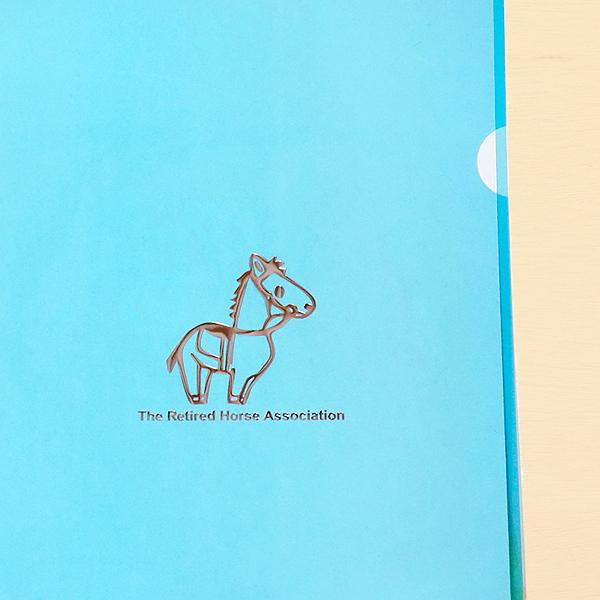 引退馬協会クリアファイル5色セット