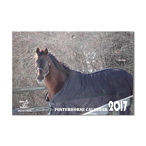 引退馬協会 フォスターホースカレンダー 2017