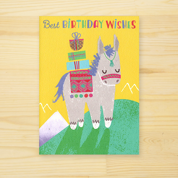 MADISON PARK GREETINGS 「BIRTHDAY DONKEY」