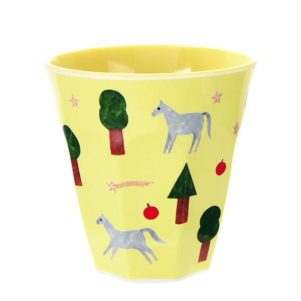 西淑(nishi shuku) 馬柄メラミンカップ「playground」