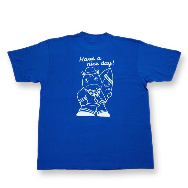 <そのたんSHOP>そのたん セーラーTシャツ 青