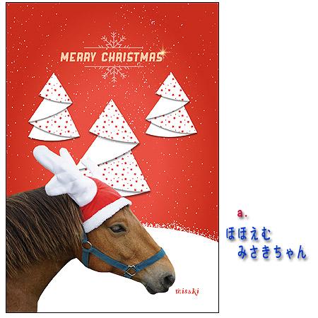 【メール便送料込】ホーストラスト クリスマスカード A