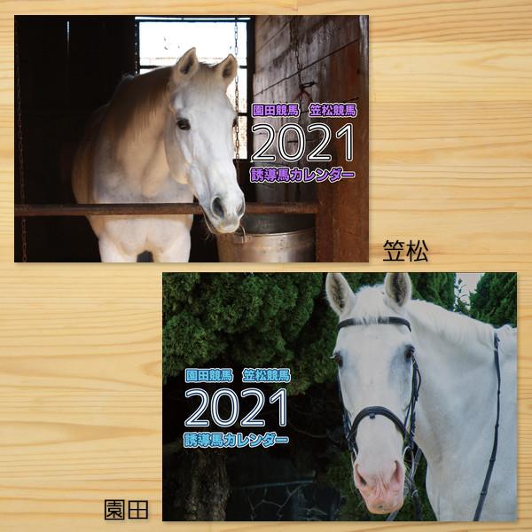 「園田競馬&笠松競馬」誘導馬カレンダー2021、2020+2021セット