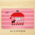 【アウトレット】Shinzi Katoh(シンジ カトウ) キュートな馬柄プレースマット メリーゴーランド(ピンク)