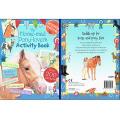 ホースマッドポニーラバーズ アクティビティブック HORSE-MAD PONY LOVERS ACTIVITY BOOK