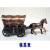 手のひらサイズ ブリキのミニチュア馬車 鉛筆削り 2種
